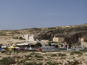 The Azure Window visitor area