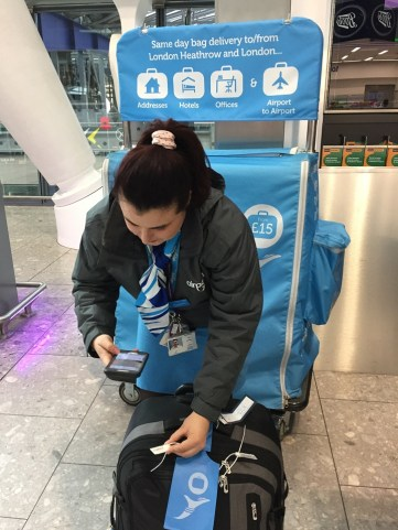 AirPortr London Heathrow Luggage Delivery