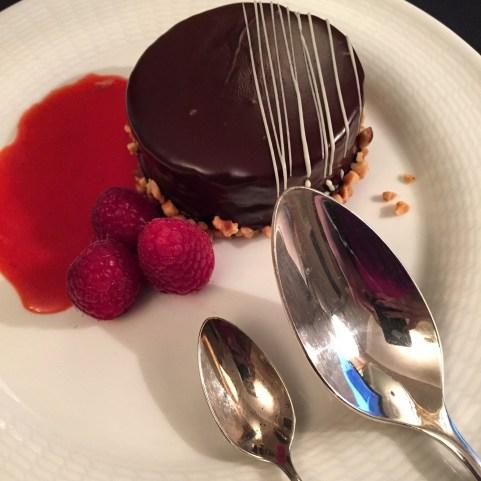 Westin Milan Room Service chocolate