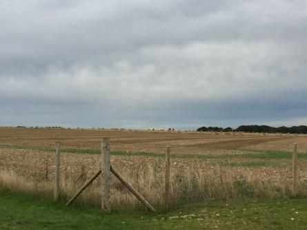 Fields around Stonehenge
