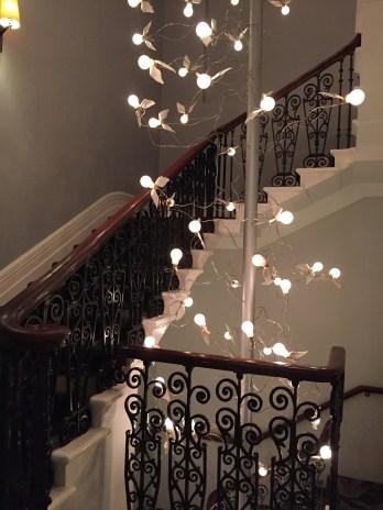 The Ampersand Hotel Lobby Lighting Art Installation