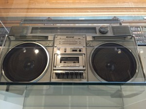 Boombox at the V&A Museum London