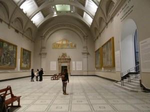 V&A Musuem large gallery