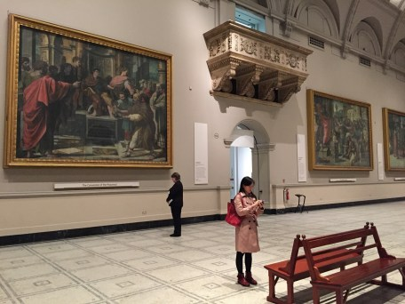V&A Museuem large paintings