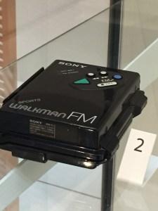 V&A Musuem Sony Walkman