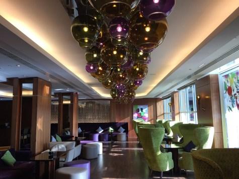 Edinburgh Sheraton One Square Restaurant bar lounge decor