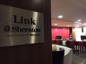 Edinburgh Sheraton Grand Business center