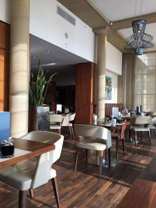 Edinburgh Sheraton Grand One Square Restaurant dining room