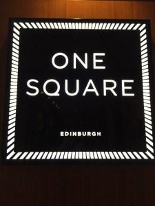One Square Restaurant Edinburgh