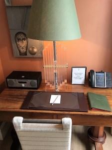 The Dorset Square Hotel Drawing Room Desk
