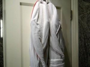 Dorset Square Hotel robes