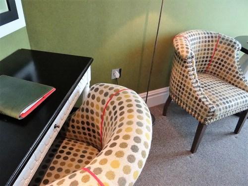 Dorset Square Hotel Design Chairs