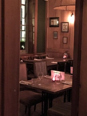 The Grazing Goat in Marylebone Dining Room