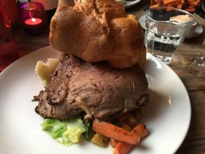 The Grazing Goat Roast Dinner Yorkshire Pudding