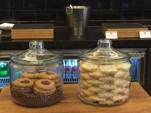 Fairmont D.C. Gold Lounge Cookies
