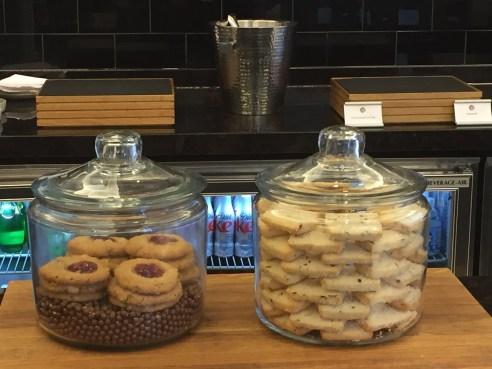 Fairmont D.C. Gold Level Lounge Cookies
