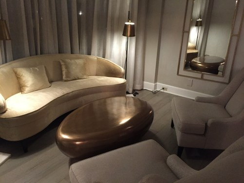Fairmont D.C. Gold Level Lounge Review Seating