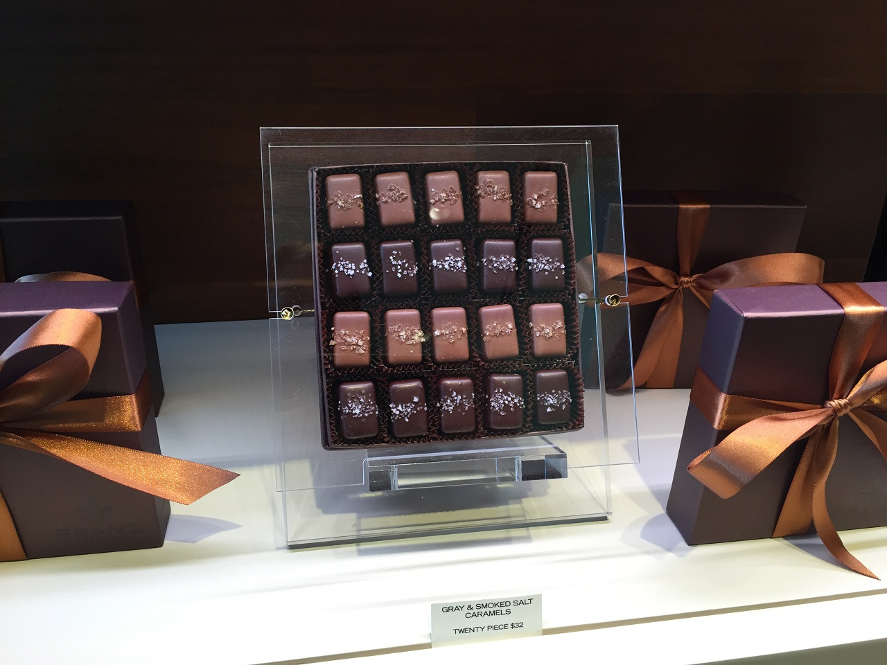 Four Seasons Seattle Frans Chocolates Caramels - PhilaTravelGirl