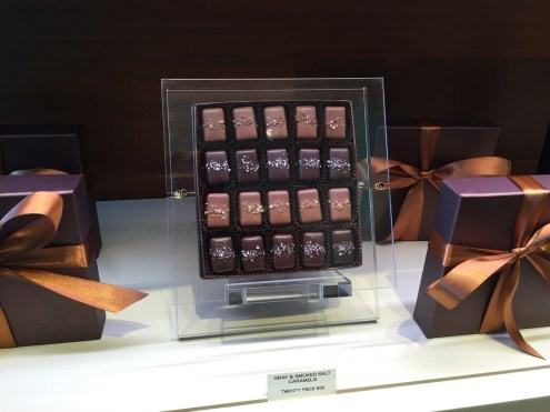 Fran's Chocolates at the Four Seasons Seattle lobby