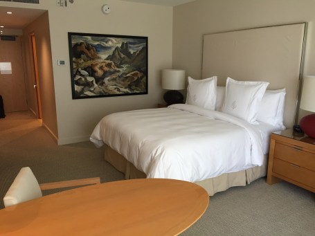 Four Seasons Seattle Guestroom view
