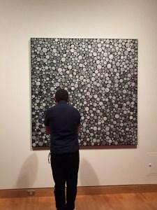 Infinity Mirrors exhibit Kusama painting