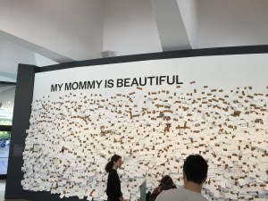 Yoko Ono My Mommy is Beautiful at the Hirshhorn in D.C.