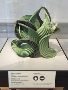 Green Balance art at The Renwick Gallery