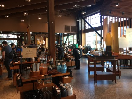Starbucks Reserve Store Seattle