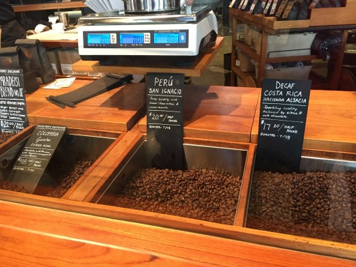 Starbucks Roastery Coffee Bean Bar