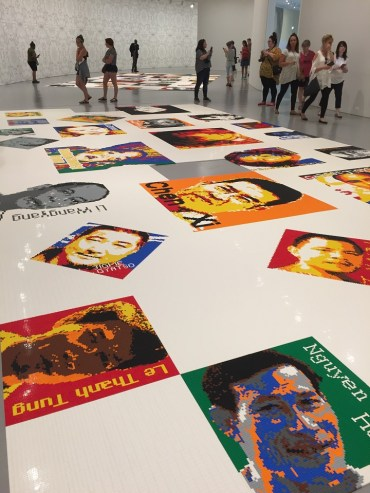 Trace at Hirshhorn 176 portraits in Lego by Ai Weiwei