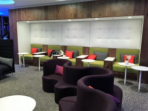 PHL Centurion Lounge seating outlets