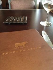 Bourbon Steak D.C. menu Four Seasons Best burger in D.C.