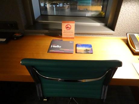 Room Desk at London Aloft Excel