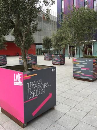 London Excel Hotel Aloft closest
