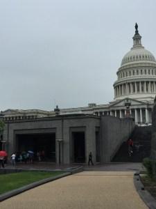 The U.S. Capitol Tour visitor entrance