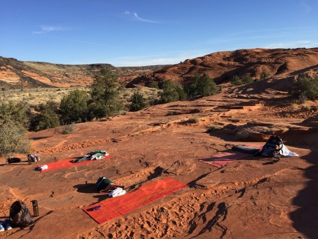 Red Mountain Yoga in Snow Canyon Solo Wellness