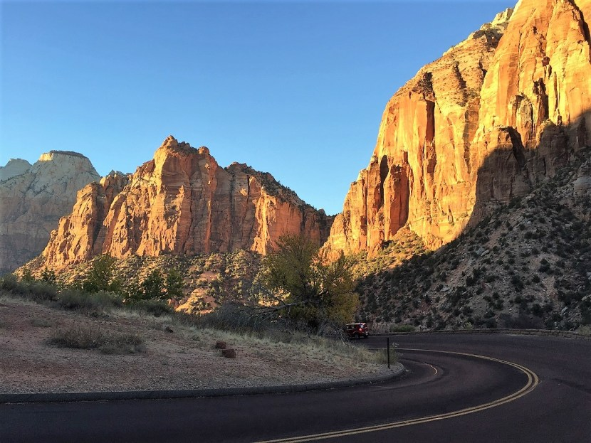 Zion National Park Photo Sunset