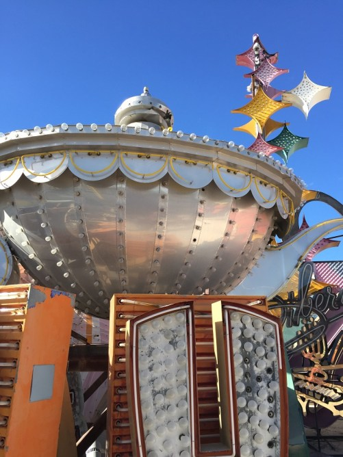Neon Museum Aladdin's Lamp