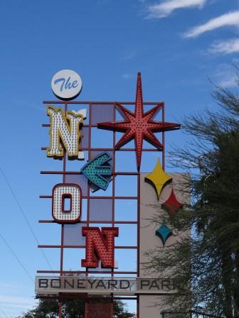 Neon Musuem Neon Boneyard Sign