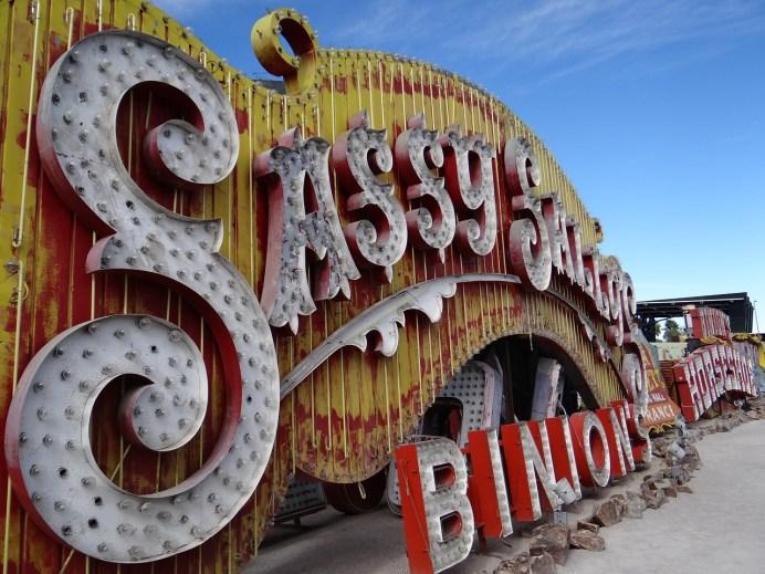 Neon Museum Sassy Sally Binions