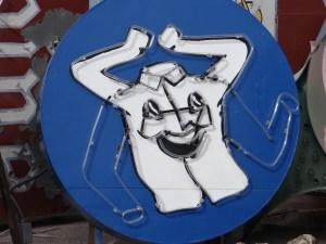 Happy Shirt Neon Sign Neon Museum