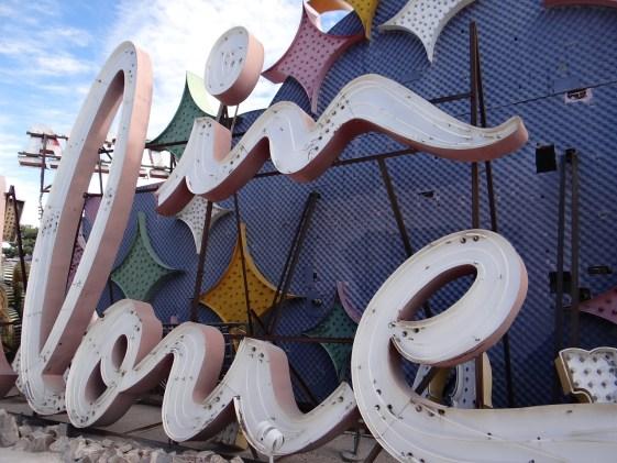 In Love Neon Sign Las Vegas Neon Museum