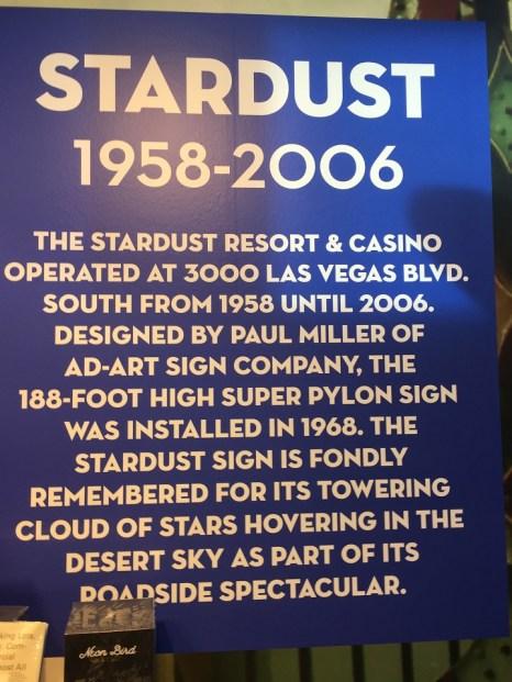 Neon Museum Stardust Sign History Las Vegas
