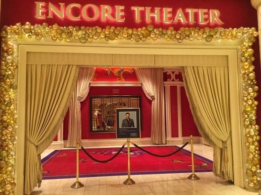 The Wynn Hotel Encore Theatre