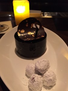 The Wynn Hotel La Cave Wine Bar Dessert