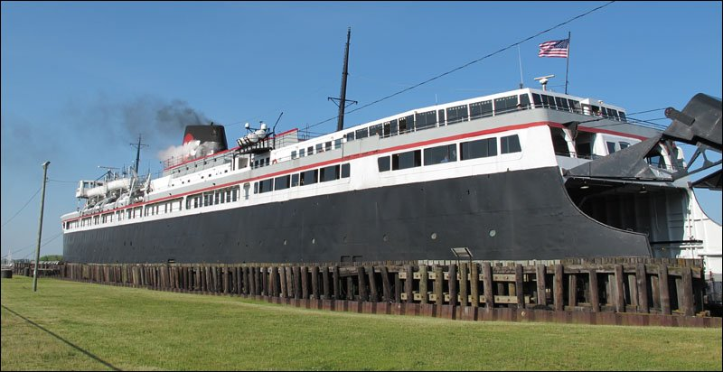 S.S. Badger docked in Manitowoc
