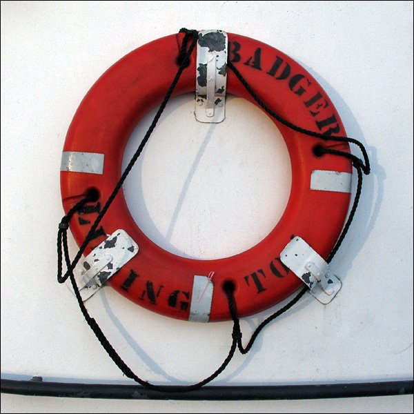 S. S. Badger Life Ring