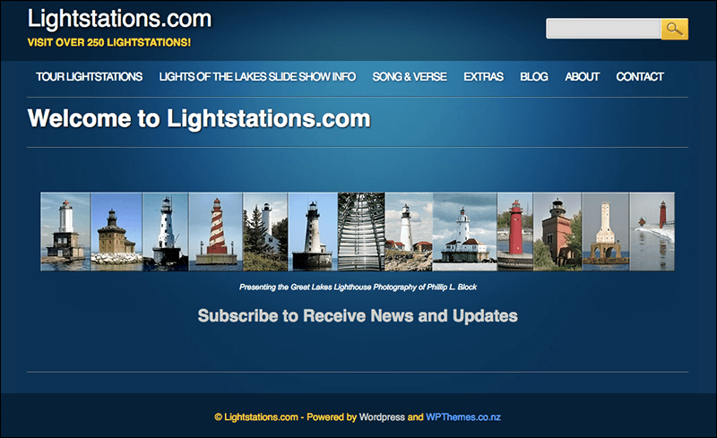 Lightstations.com Home Page