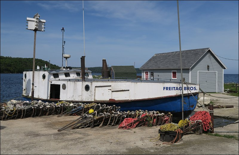 Freitag Bros. Fishing Boat