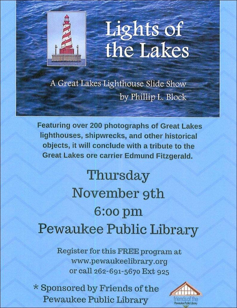 Pewaukee Public Library Flyer